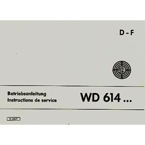 Steyr Stationärmotor WD 614, Betriebsanleitung