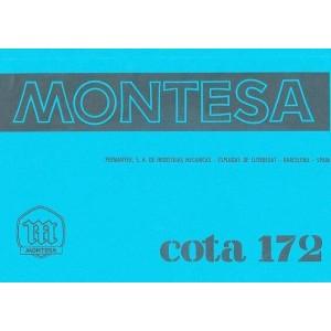 Montesa Cota 172 Betriebsanleitung und Ersatzteilkatalog