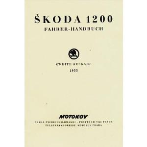 Skoda 1200, Modell 1955, Betriebsanleitung