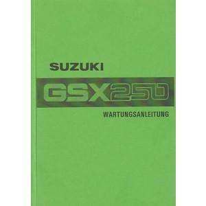 Suzuki GSX 250, Reparaturanleitung