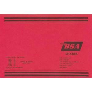 BSA A 50/ A 65, 500 und 650 ccm Ersatzteilkatalog