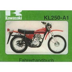 Kawasaki KL 250-A1, Betriebsanleitung