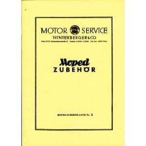 HMW Moped-Zubehör-Liste Nr.2