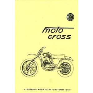 CZ Moto Cross 250 ccm Typ 980.04 und 400 ccm, Typ 981.01, Betriebs- und Reparaturanleitung