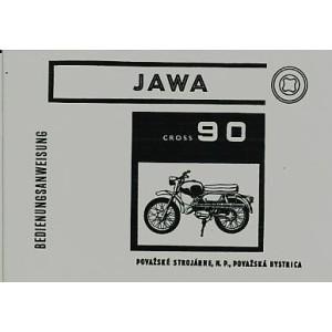 Jawa 90 Cross, Betriebsanleitung