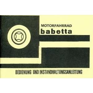 Jawa Babetta 207/100 Betriebsanleitung
