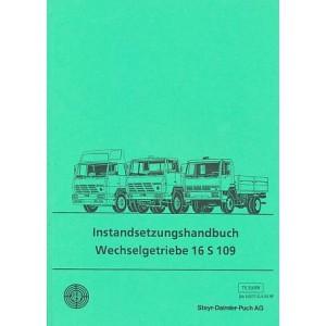Steyr 16 S 109, ZF - Eccomid, Wechselgetriebe