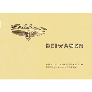 Felber Beiwagen III, Prospekt-Reprint