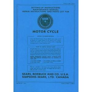 Allstate 250 SGS - Owners Manual, Repair Manual, Spare-parts Catalog