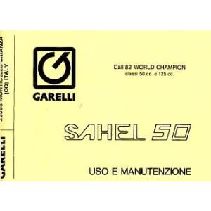 Garelli Sahel 50 Uso e Manutenzione