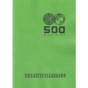 Puch 500 Ersatzteilkatalog