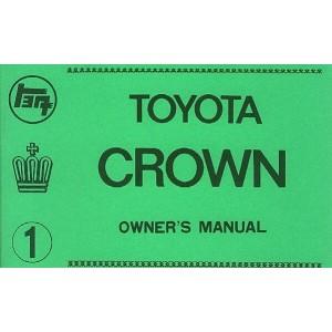 Toyota Crown, Betriebsanleitung