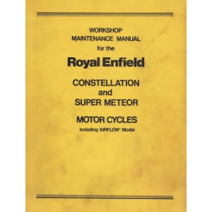 Royal Enfield Constellation and Super Meteor, Workshop Manual