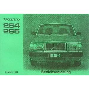 Volvo 264 und 265, Betriebsanleitung