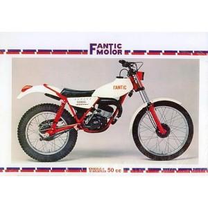 Fantic Trial 50 ccm, Ersatzteilkatalog