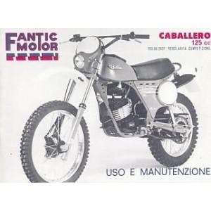 Fantic Caballero 125 cc USO E Manutenzione