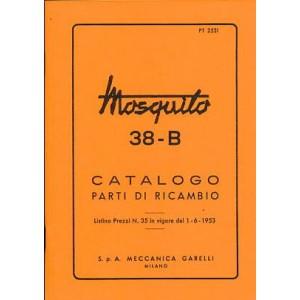 Garelli Mosquito 38-B Catalogo