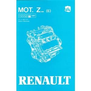 Renault 25, 30, Alpine V6 Turbo, Alpine V6 GT, für Benzinmotor Reparaturanleitung