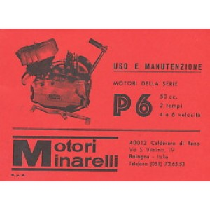 Moto Minarelli P 6 – Betriebsanleitung