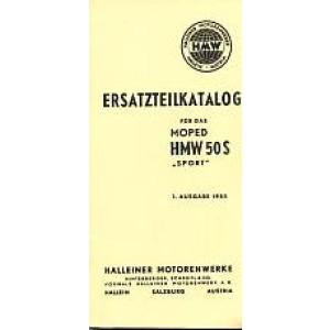 HMW 50 S, Ersatzteilkatalog