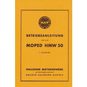 HMW 50 E, ET, Z, ZT, Betriebsanleitung