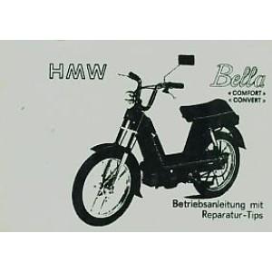 HMW Bella Comfort und Convert mit Fantic-Motor, Betriebsanleitung mit Reparatur-Tips