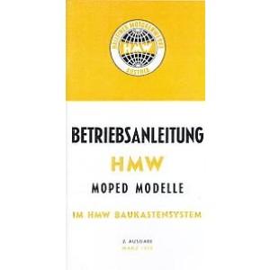 HMW Moped Modelle im Baukastensystem. Betriebsanleitung und Beschreibung