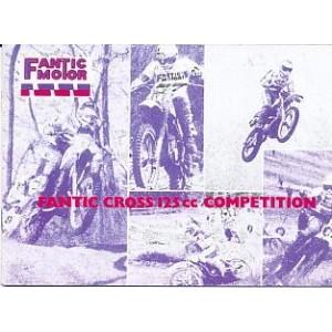 Fantic Cross 125 cc Compedition, Betriebsanleitung