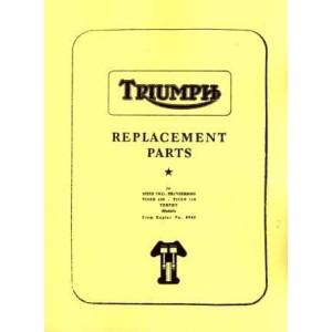 Triumph (GB) 5T, 6T, TR5, T100, T110, TR6, Speed Twin, Thunderbird, Tiger 100 und 110, Trophy ab Motor Nr. 0945