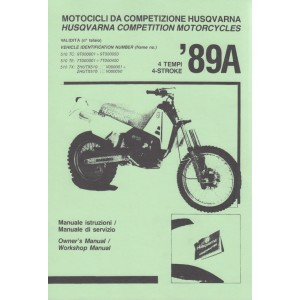 Husqvarna Competition Motorcycles, Owner's and Workshop Manual