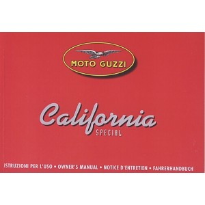 Moto Guzzi California Special / Jackal, Betriebsanleitung