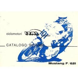 Italjet Mustang F / 621, Ersatzteilkatalog