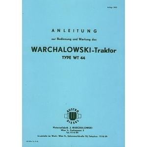 Warchalowski WT 44 Betriebsanleitung