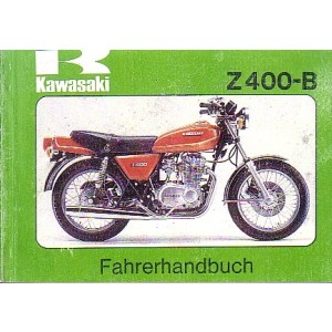 Kawasaki Z 400 - B, Betriebsanleitung