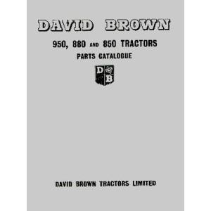 David Brown 950, 880 und 850 Implematic, Livedrive, Ersatzteilkatalog