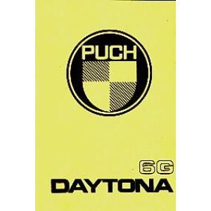 Puch Daytona 6G, Betriebsanleitung, nur in Verbindung mit Betriebsanleitung Puch Imola verwendbar!