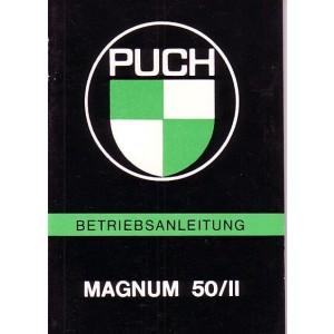 Puch Magnum 50/II, Betriebsanleitung