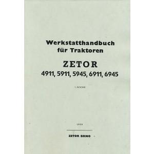 Zetor 4911, 5911, 5945, 6911, 6945 Werkstatthandbuch