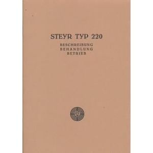 Steyr Typ 220 Betriebsanleitung