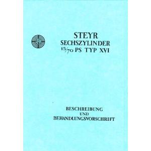 Steyr Typ 16 Betriebsanleitung