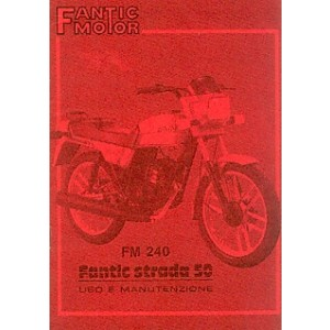 Fantic FM 240 Strada, 50 ccm, Betriebsanleitung