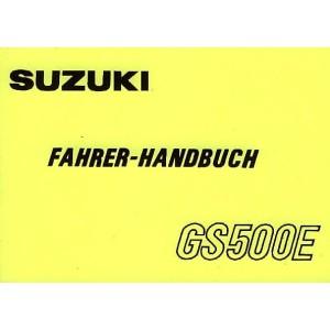 Suzuki GS 500 E, Betriebsanleitung