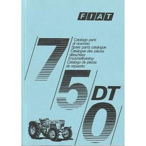 Fiat Traktor 750 DT Ersatzteilkatalog