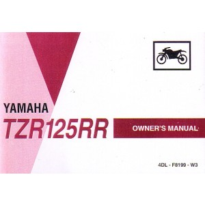 Yamaha TZR 125 RR, Betriebsanleitung, Owners Manual