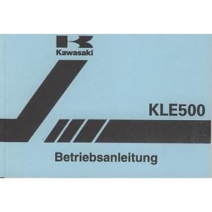Kawasaki KLE 500, Betriebsanleitung