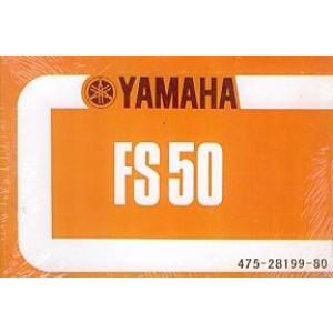Yamaha FS 50, Betriebsanleitung
