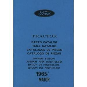 Ford Traktor Major, Ersatzteilkatalog