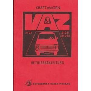 Lada Kraftwagen VAZ 2121, 21211 und 21212 Betriebsanleitung