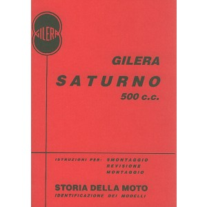 Gilera Saturno 500 Turismo und Sport, Reparaturanleitung