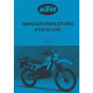 KTM Motorfahrzeugbau 50 GXE (Motortyp 491) 6-Gang Reparaturanleitung